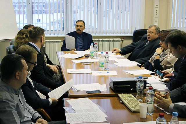 Участники заседания правления Ассоциации