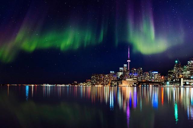 Aurora in Toronto?!