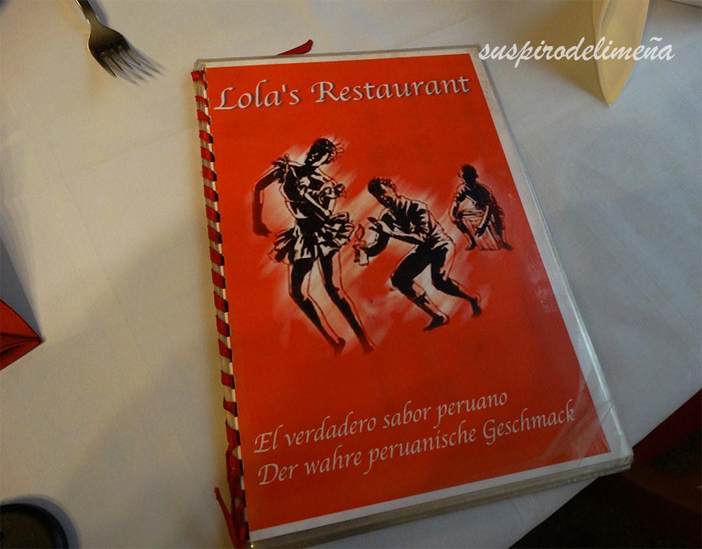Carta Lola's Restaurant