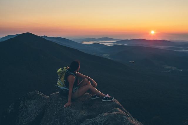 Sharp Top Mountain Sunrise