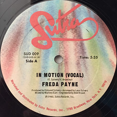 FREDA PAYNE:IN MOTION(LABEL SIDE-A)