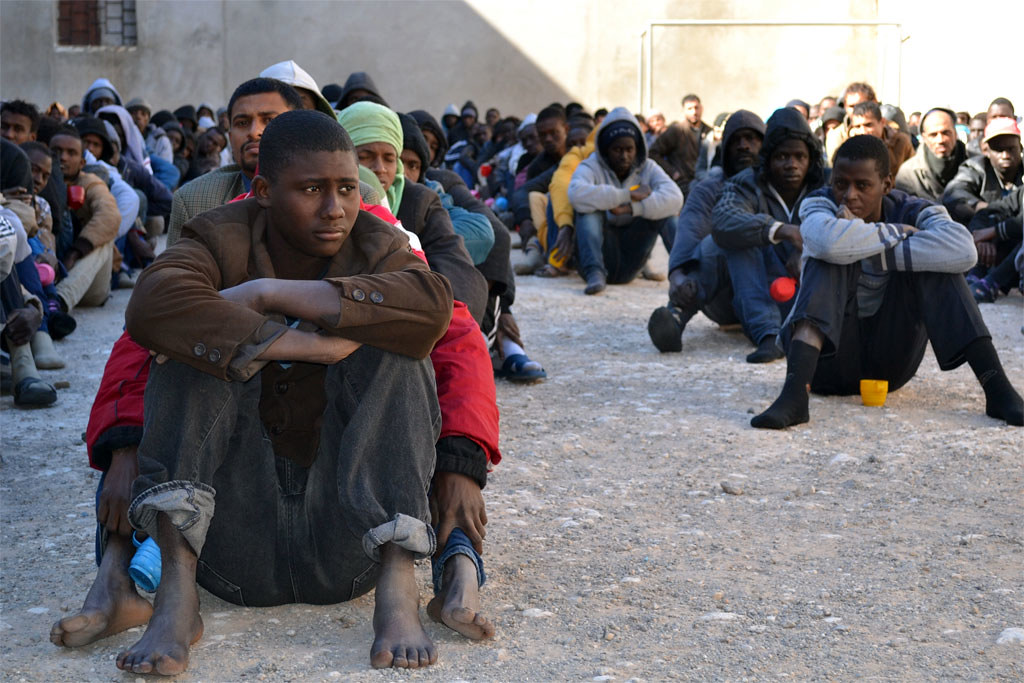 Most migrants in Libya not heading to Europe