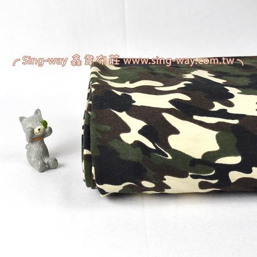阿兵哥紋 軍事迷彩 針織彈性布料 LB990043