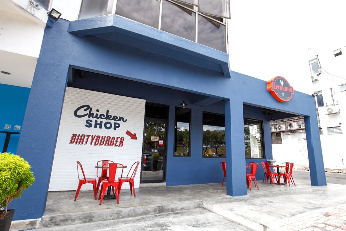 Hermanos Chicken Burger Shop Shah Alam