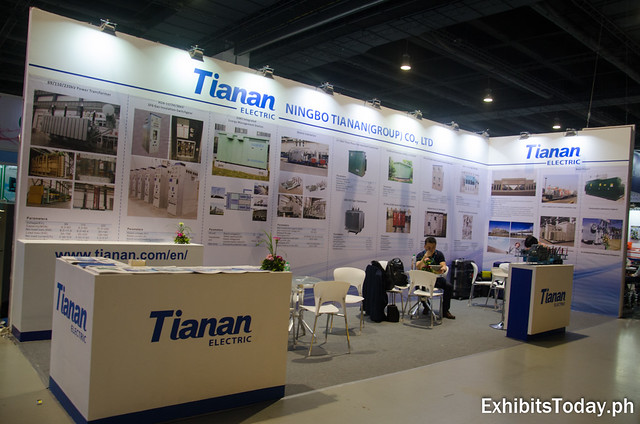 Tianan Electric Exhibit Booth