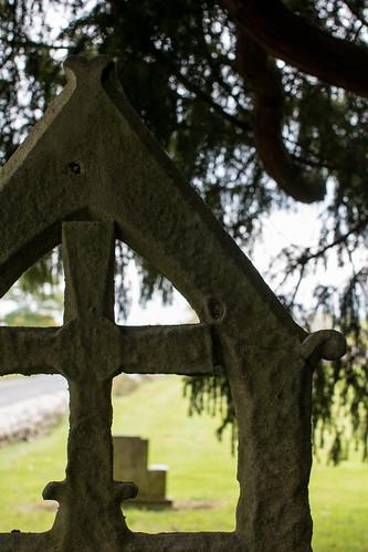 Weathered, Muchelney Churchyard