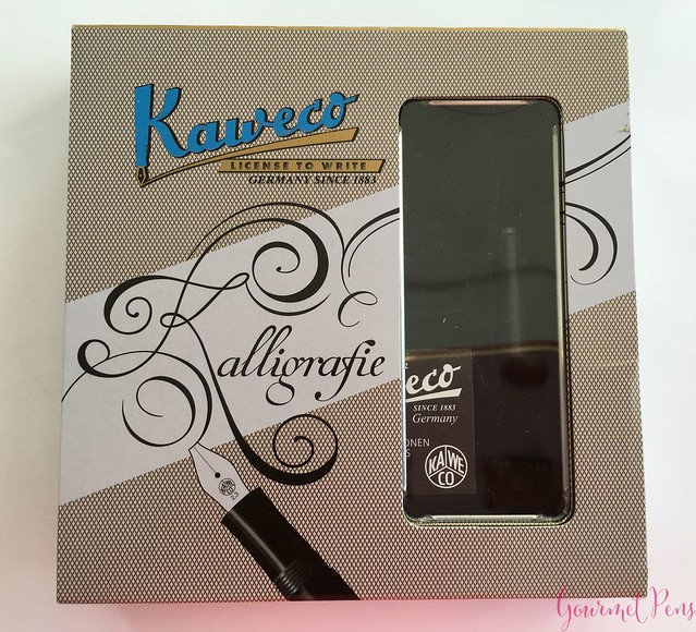 Video Review Kaweco Calligraphy Set - White @JetPens 5