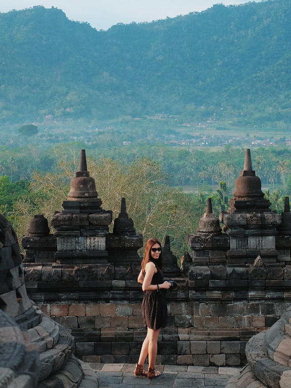 borobudur temple outfit