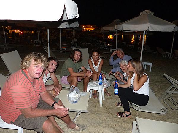 dernier gyros à Naxos