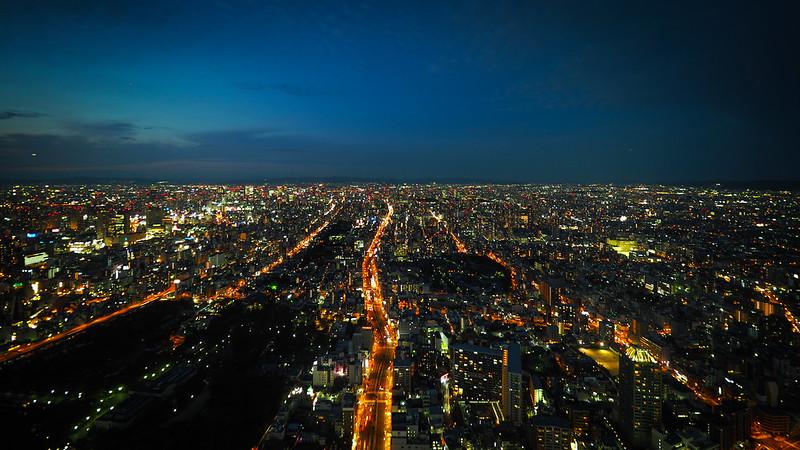 Harukas 阿倍野|大阪夜景 Osaka
