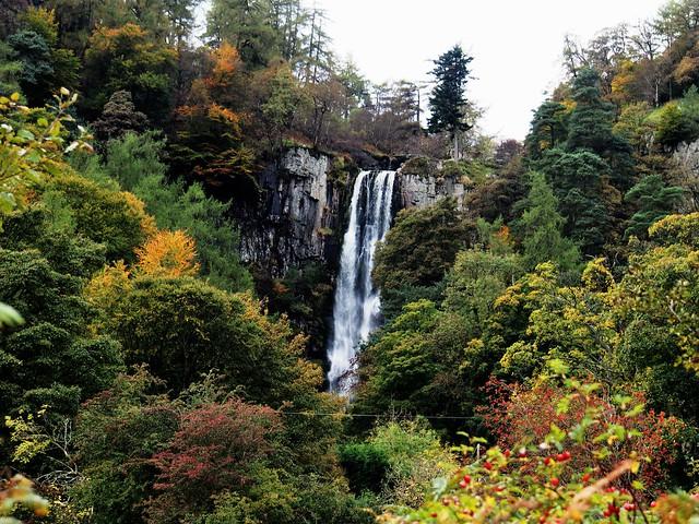 Pistyll Rhaeadr Waterfall, Powys, Wales