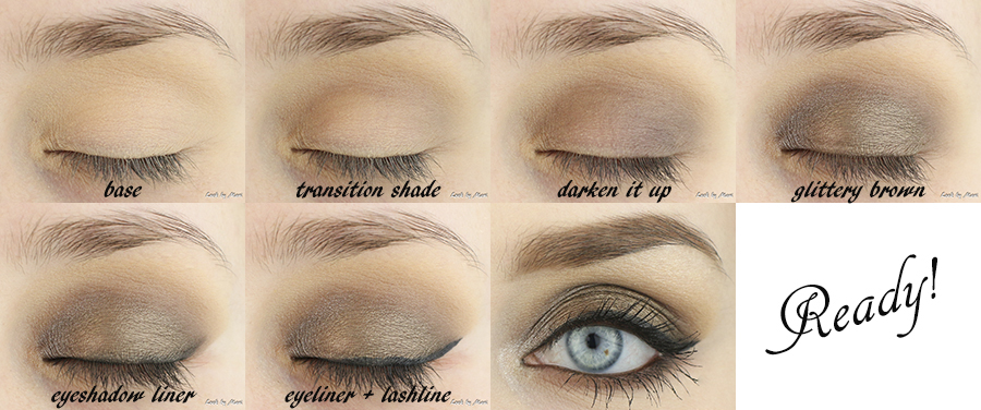 4 brown smoky eye makeup tutorial