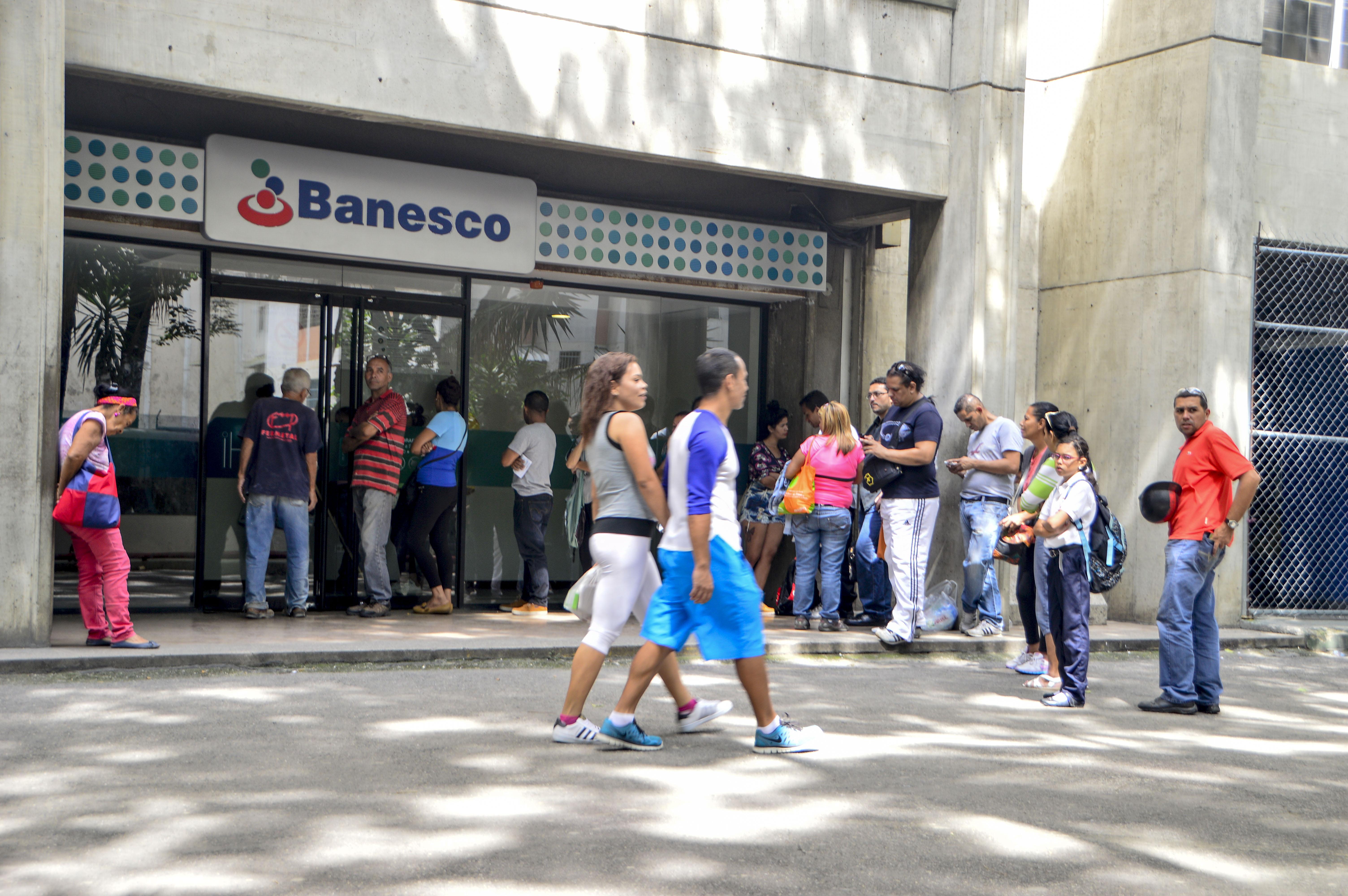 Recorrido por bancos