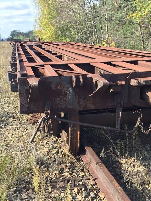 СБУ в районі АТО попередила спробу розкрадання залізничних платформ вартістю 630 тис грн