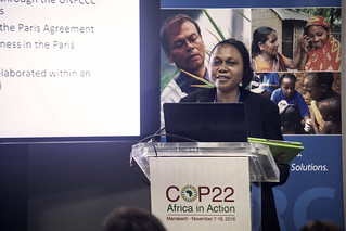 COP22 : African Working Group on Gender and Climate Change: AFRICA'S GENDER RELATED IMPLICATIONS OF PARIS CLIMATE AGREEMENT, 9 November 2016