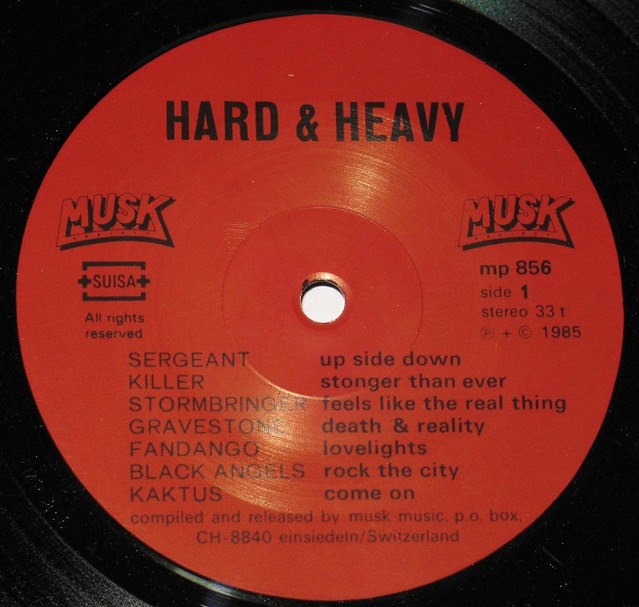 HARD & HEAVY MUSK Swiss Hard Rock and Heavy Metal