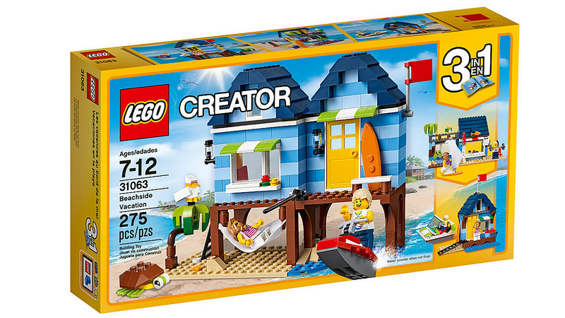 LEGO Creator 2017 - Beachside Vacation (31063)