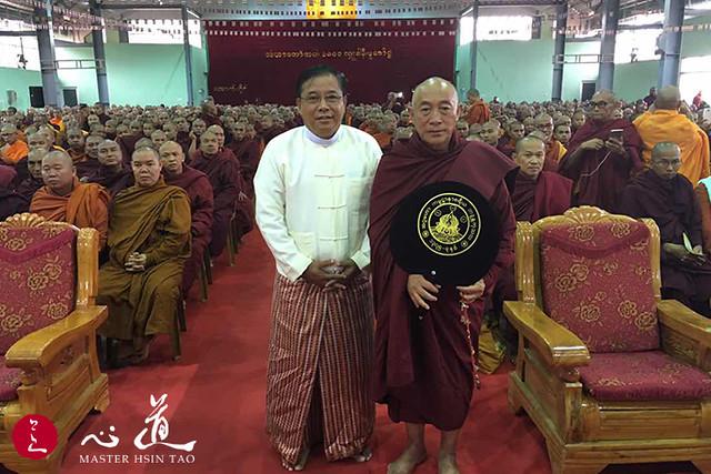 20161026緬甸果敢老街市千僧法會安靈安心