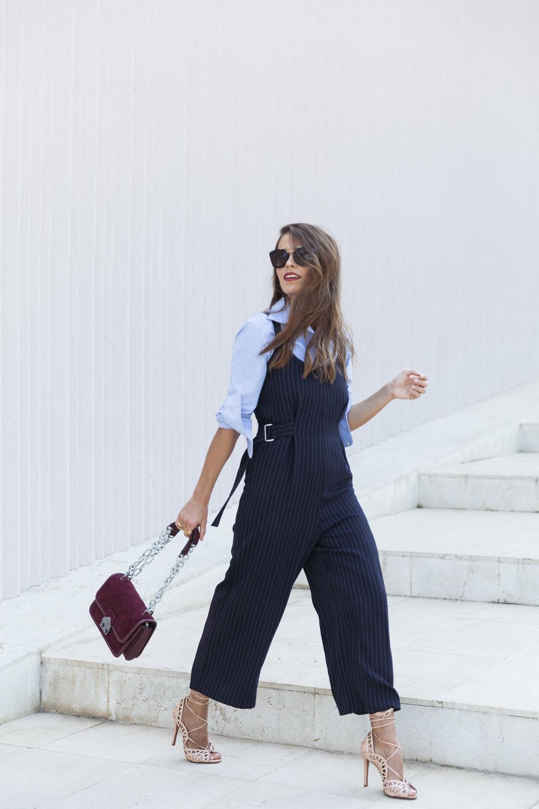 Jessie Chanes Seams for a desire - Pinstripped suit topshop heeled sandals schutz parfois bag  -12