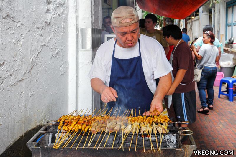 Thean Chun Pork Satay Ipoh