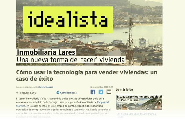 Idealista Inmobiliarias Cangas Galicia