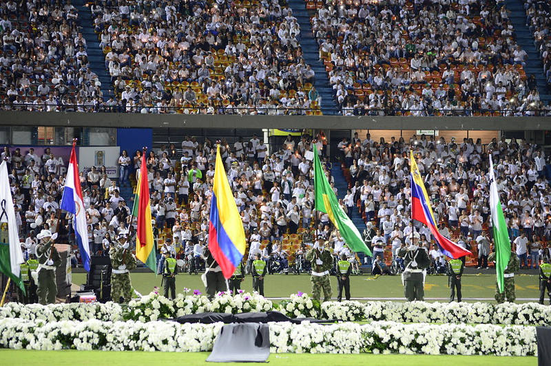 Homenaje a la memoria del club Chapecoense