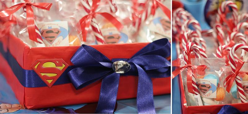 Buon compleanno festa Batman VS Superman regalo invitati