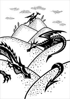 Dragon Hills / Драконьи холмы