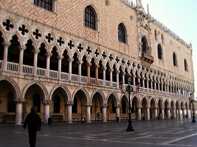 El palacio ducal sin turistas