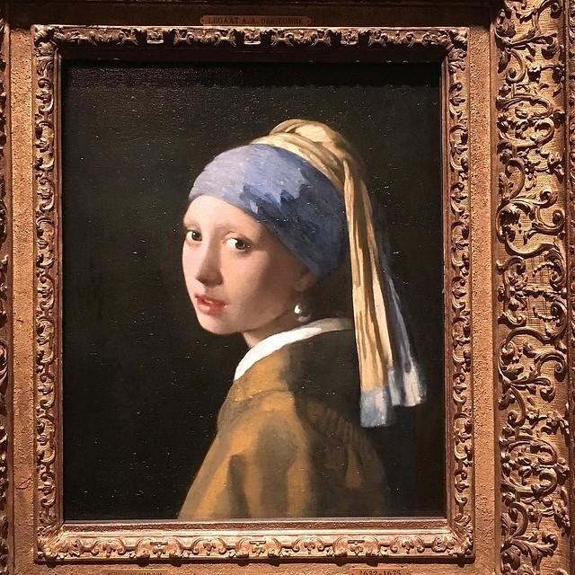 Vermeer. #mauritshuis