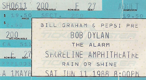 1988-06-11 Mountain View ticket