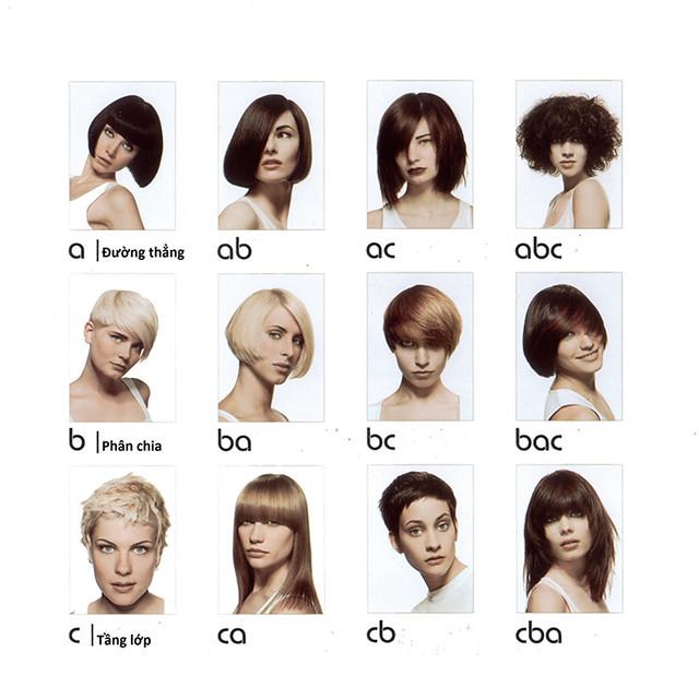 Nguyên tắc ABC cắt tóc trong Giáo trình Vidal Sassoon