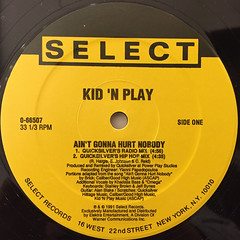 KID 'N PLAY:AIN'T GONNA HURT NOBODY(LABEL SIDE-A)