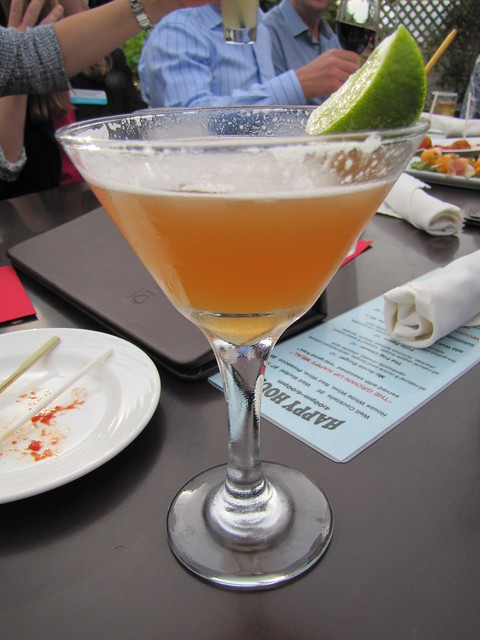 Cocktail at Vesuvio in Carmel-by-the-Sea