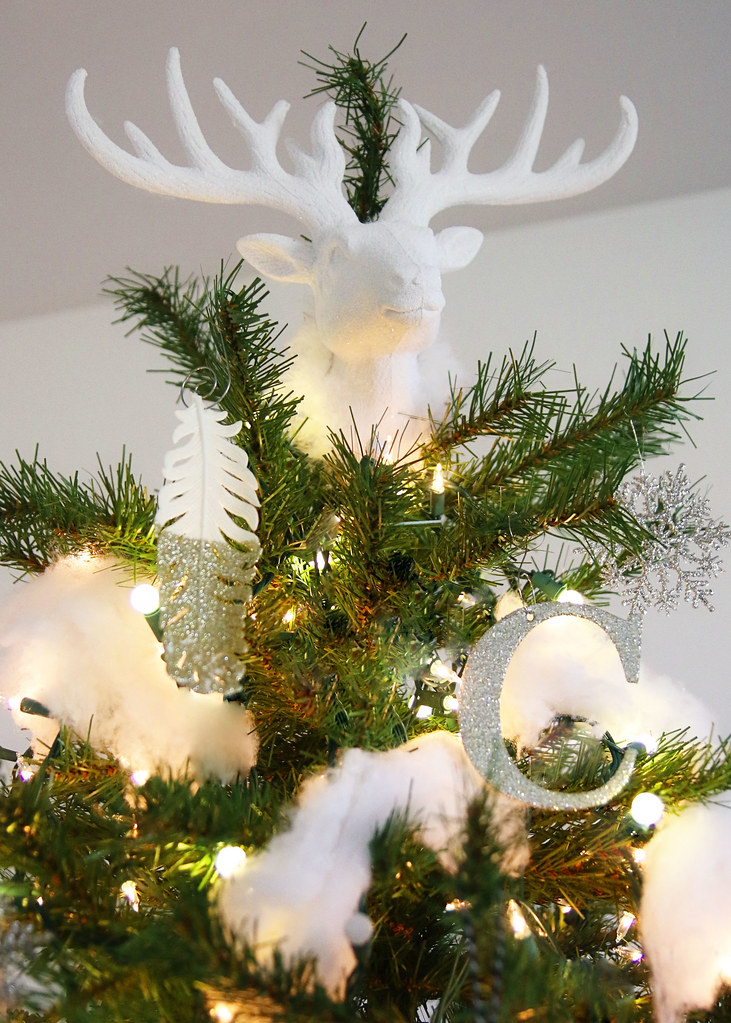 Reideer Head Tree Topper