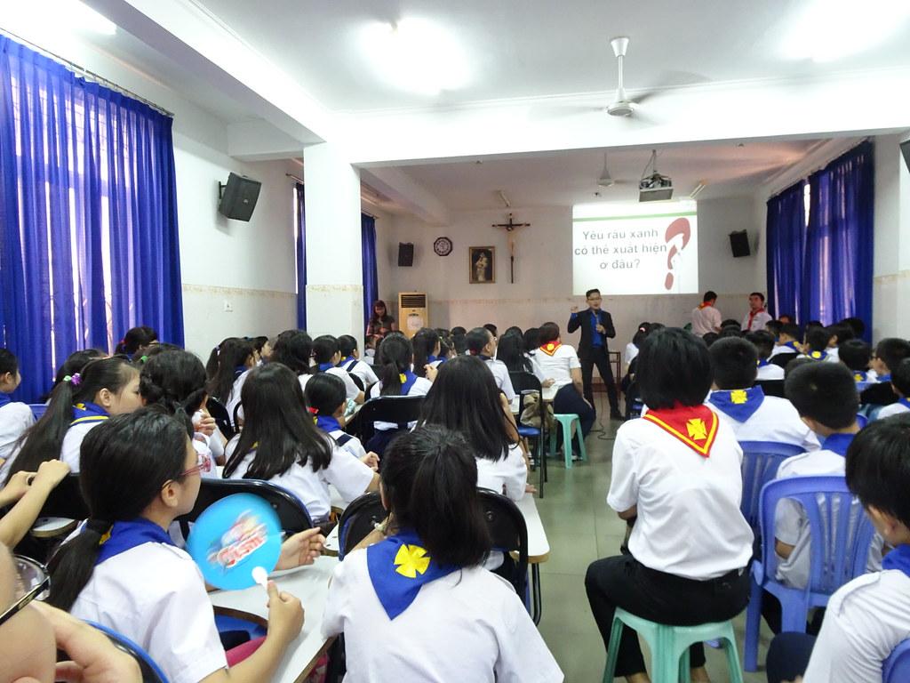 Open Seminar at the Parish of Tan Phuoc, Sai Gon
