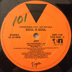 SOUL II SOUL:JOY(LABEL SIDE-A)