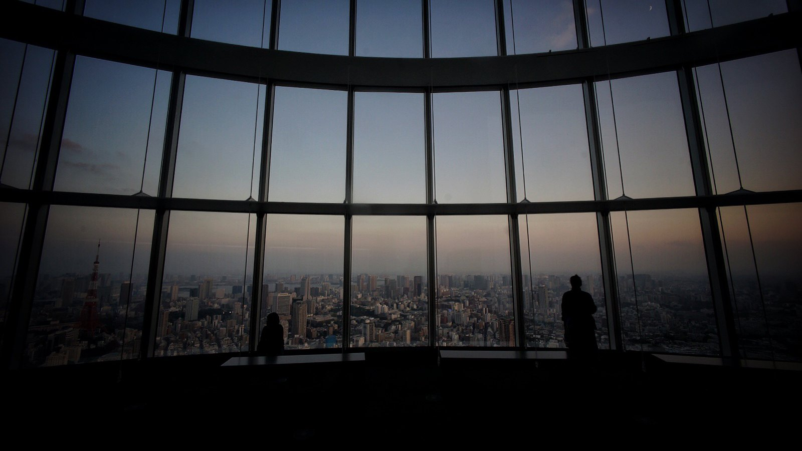 Sunset at Roppongi Hills