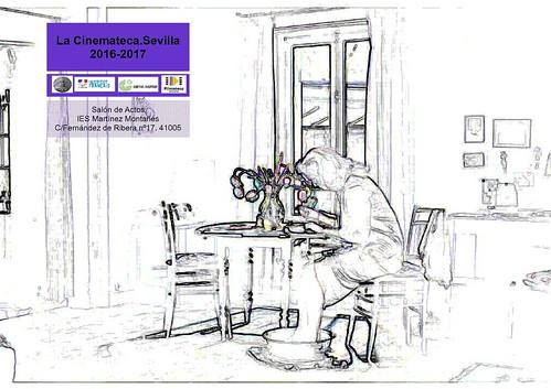 Cartel Octubre Diciembre Dibujo
