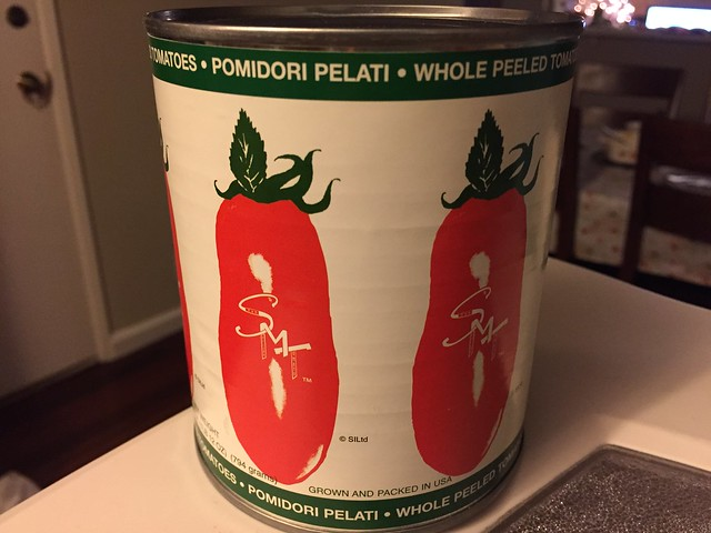 Whole san marzano tomatoes