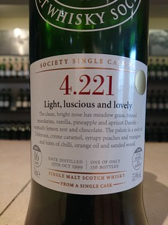 SMWS 4.221 - Light, luscious and lovely