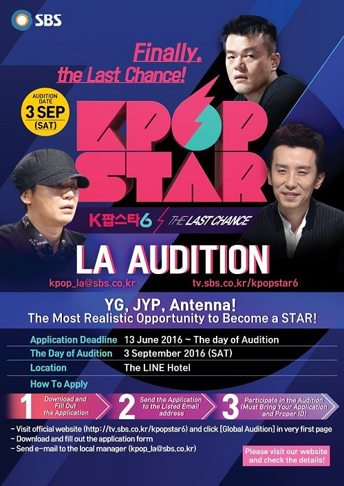 Kpop Star Season 6