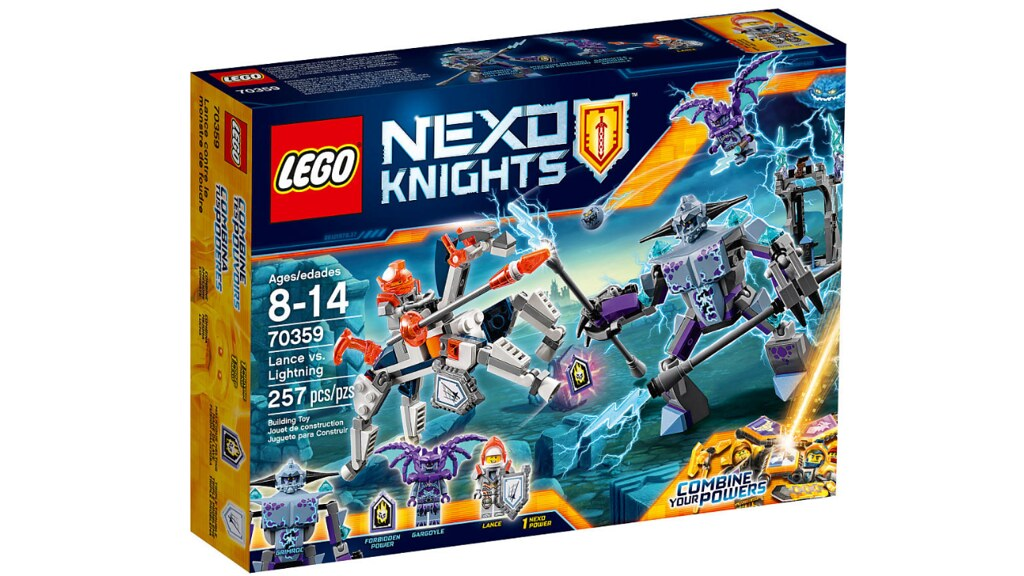 LEGO Nexo Knights 70359 - Lance vs. Lightning