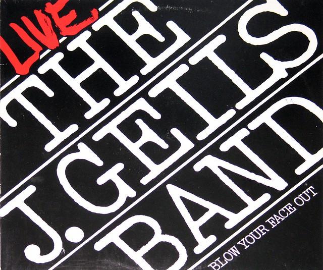 J. Geils Band - Blow Your Face Out, Live 2LP