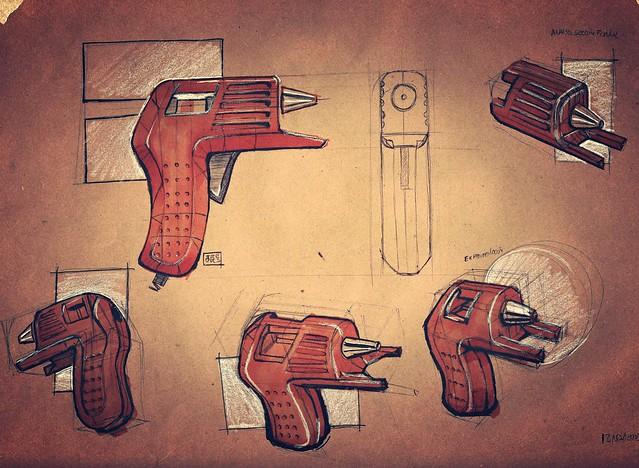 pistola silicon