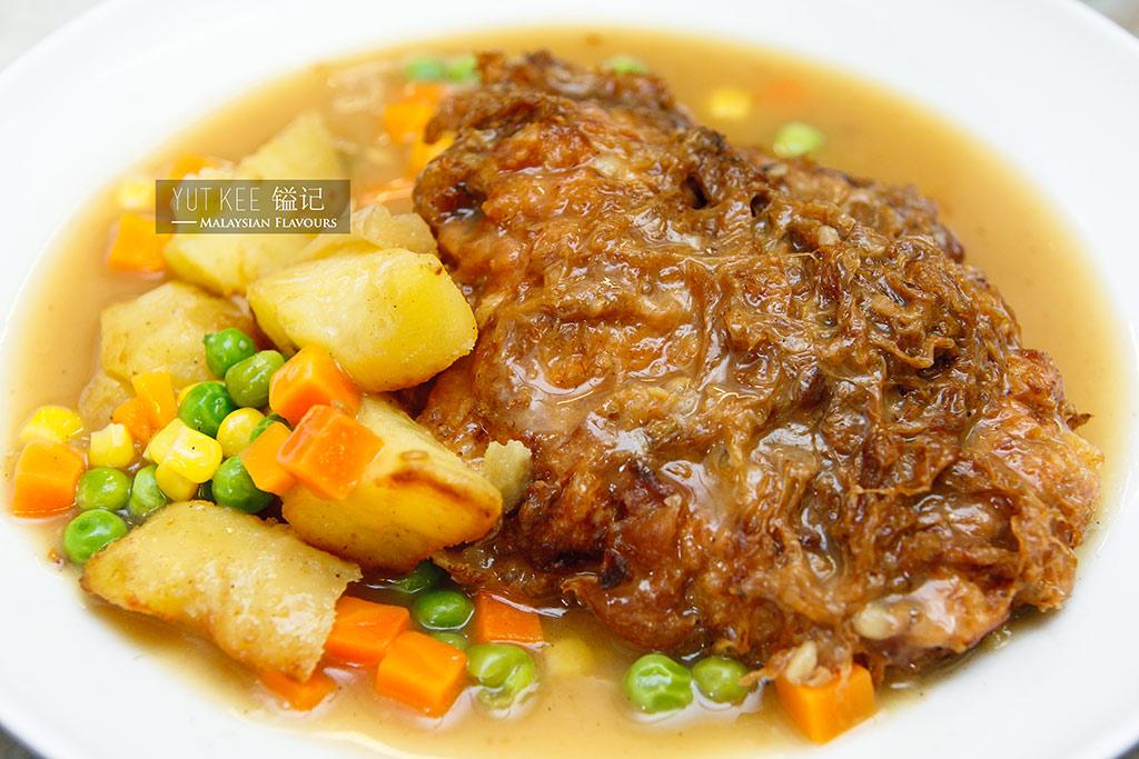 yut kee hainanese chicken chop