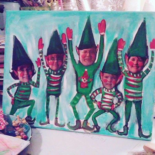 I elfed my family hehe