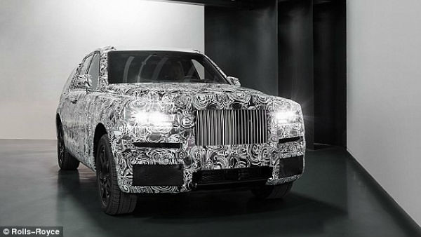 Rolls-Royce's 4x4: The world's most expensive SUV