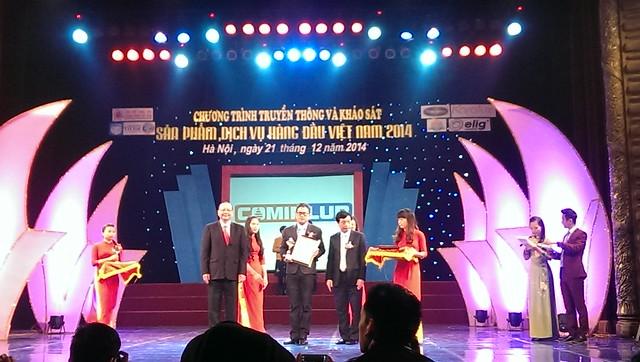 Hình ảnh lễ trao giải thưởng thương hiệu Elig 2013 - 2014