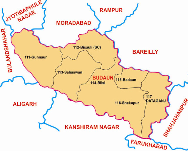 Budaun district Uttar Pradesh Election 2017